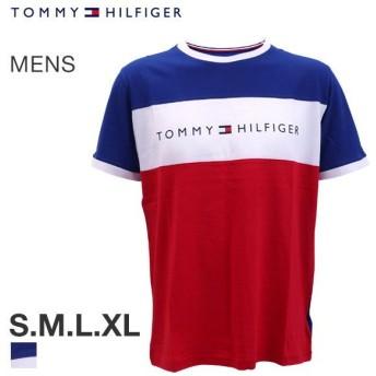 【メール便(10)】 (トミー・ヒルフィガー)TOMMY HILFIGER CN SS TEE LOGO FLAG 半袖 Tシャツ メンズ クルーネック