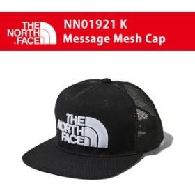 19SS ノースフェイス MESSAGE MESH CAP メッセージ メッシュ キャップ NN01921 カラーK THE NORTH FACE 正規品