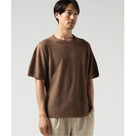 JOURNAL STANDARD FRENCH LINEN クルーネックTシャツ ブラウン B L