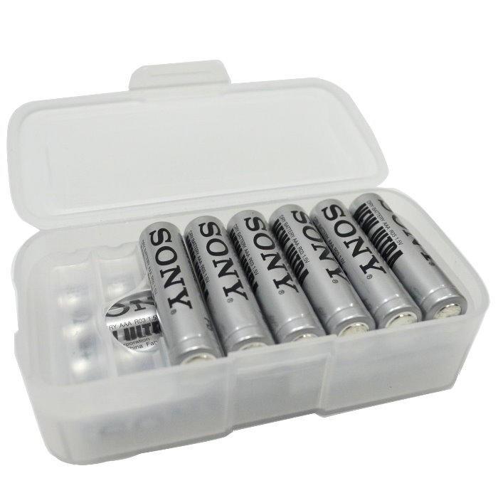 電池盒-雙層 電池盒3號電池 4號電池均可用 鋰電池盒 充電電池盒【DC204】