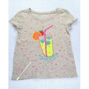 ギャップ GAP Tシャツ 半袖 120cm グレー系 ハート 女の子 アメカジ キッズ 子供服 通販 買い取り