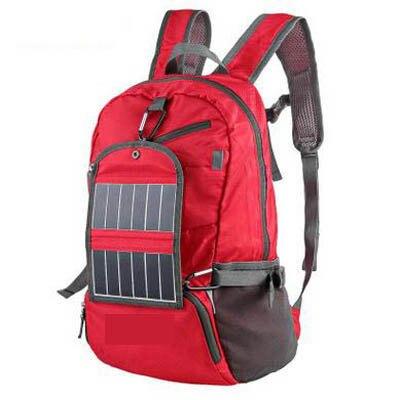 【3.5W充電可折疊壓縮太陽能休閒背包-45.5*23.5*17CM-1個/組】戶外運動包可折疊壓縮太陽能休閒背包3.5W充電包-7670703