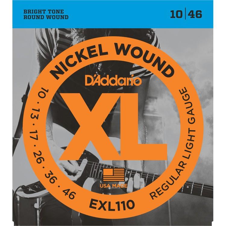 D'Addario EXL110 10-46 電吉他弦 / Nickel Wound【桑兔】