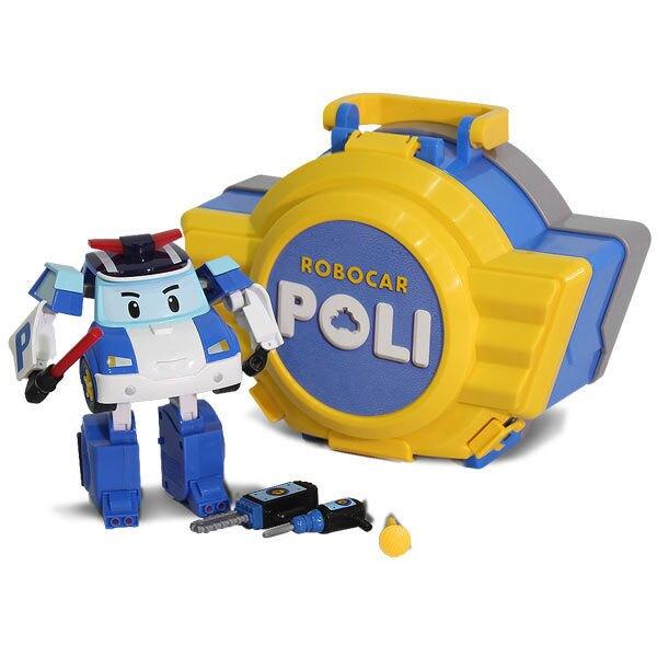 救援小英雄波力POLI  LED變形波力手提基地 【鯊玩具Toy Shark】
