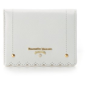 サマンサタバサプチチョイス スカラップシリーズ 折財布 ホワイト