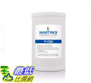 [107美國直購] 濾芯 iFilters CB8 適用於安麗 Amway E-84, E-85, A101, E-9225 Compatible Water Filter _TC1