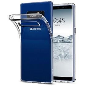【Spigen】 スマホケース Galaxy Note8 ケース [ SC-01K SCV37 ] 対応 TPU 全面クリア 薄型