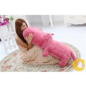 ぬいぐるみ カバ 河馬 4色  80cm 可愛いカバ抱き枕 クマ縫い包み プレゼント