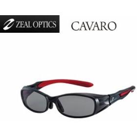 ●ジール Zeal CAVARO(カヴァロ) F-1205 クリアブラックレッド/トゥルービュー