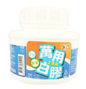 618購物節促銷~大富士 B250L 圓瓶附桿萬用白膠-12瓶入 / 盒
