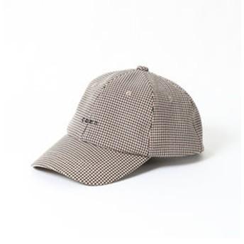【coen:帽子】ガンクラブチェックcoenロゴキャップ
