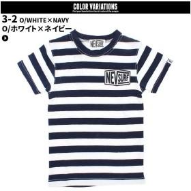 ネクストウォール メンズ NEV ボーダーTシャツ 半袖Tシャツ メンズ ネイビー系3 M 【NEXT WALL】