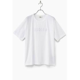 <ZUCCa/ズッカ> 大きいサイズ ステッカーロゴTシャツ シロ(31) 【三越・伊勢丹/公式】