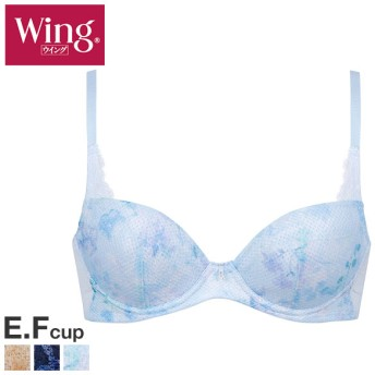 15%OFF (ワコール)Wacoal (ウイング)Wing KB2800 胸もとに風を、夏ブラ改革。ときはなつブラCool 3/4カップ ブラジャー EF 単品