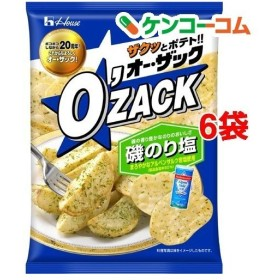オー・ザック 磯のり塩 ( 68g6袋セット )