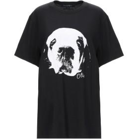 《期間限定セール開催中!》FRENCH CONNECTION レディース T シャツ ブラック L コットン 100%