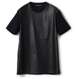 NEIL BARRETT / TRAVEL MULTIYARN JERSEY T-SHIRT Tシャツ ブラック/SMALL(エストネーション)◆メンズ Tシャツ/カットソー