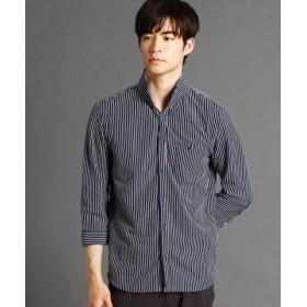 (NICOLE CLUB FOR MEN/ニコルクラブフォーメン)ストライプ柄カットソーシャツ/メンズ 67ネイビー