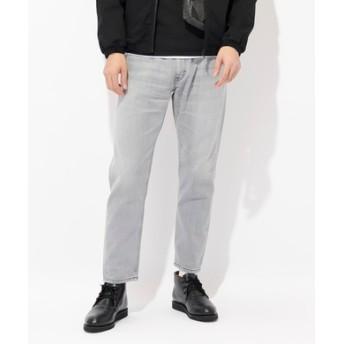 Lee 【WEB限定】テーパードデニムパンツ メンズ ブラック