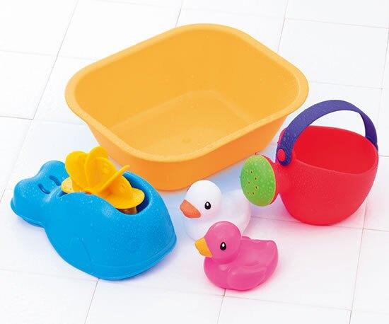 樂雅 Flex沙灘系列 歡樂小鴨水車組/沙灘玩具/洗澡玩具