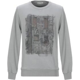 《セール開催中》ATHLETIC VINTAGE メンズ スウェットシャツ グレー S コットン 100%