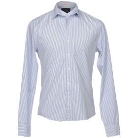 《期間限定セール開催中!》SCOTCH & SODA メンズ シャツ ブルー S コットン 100%