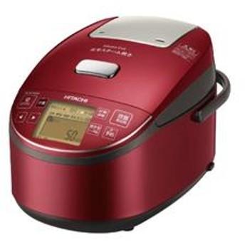 IHジャー炊飯器 「圧力&スチーム炊き ふっくら御膳」(5.5合炊き)メタリックレッド RZ-BV100M-R