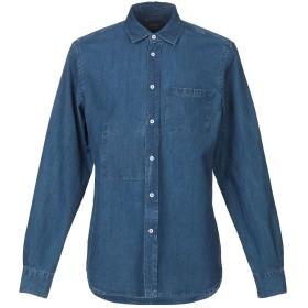 《期間限定セール開催中!》ALTEA メンズ デニムシャツ ブルー 40 コットン 100%