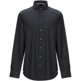《送料無料》MICHAEL KORS MENS メンズ シャツ ブラック 41 コットン 98% / ポリウレタン 2%