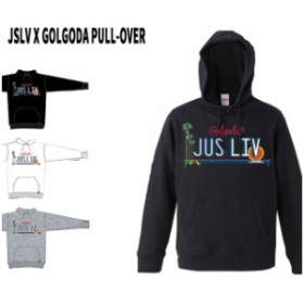 パーカー JSLV x GOLGODA COLLECTION PULL-OVER ジャスリブ  (2017FALL)  フードスエット/長袖 【SUMMER SALE