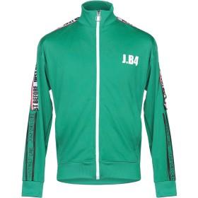 《セール開催中》JB4 JUST BEFORE メンズ スウェットシャツ グリーン XL ポリエステル 100%