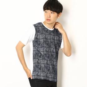[マルイ]【セール】クラッキングジャガードTシャツ/メンズメルローズ(MEN'S MELROSE)