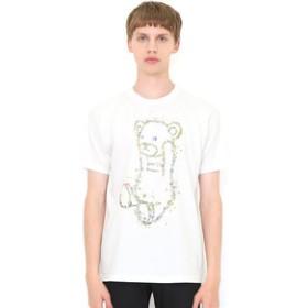 【グラニフ:トップス】グラニフ Tシャツ メンズ レディース 半袖 ボタニカルコントロールベア