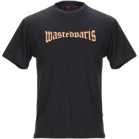 《期間限定 セール開催中》WASTED メンズ T シャツ ブラック S コットン 100%