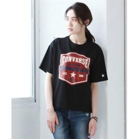 コンバース カレッジロゴプリントTシャツ (大きいサイズレディース)Tシャツ・カットソー