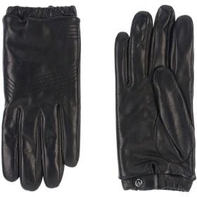《期間限定セール開催中!》DAL DOSSO メンズ 手袋 ブラック 8 革