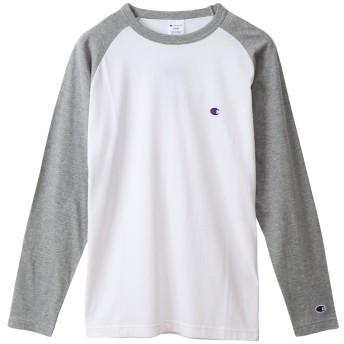 ラグランロングスリーブTシャツ 19FW ベーシック チャンピオン(C3-P402)【5400円以上購入で送料無料】