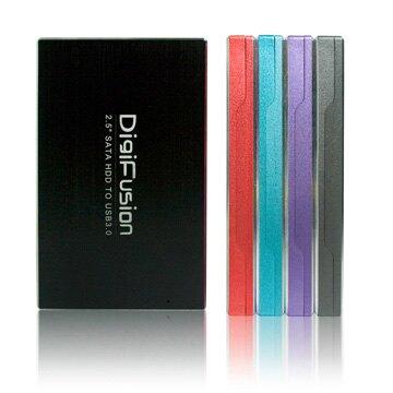 """DigiFusion 伽利略 HD-325U3S USB3.0 2.5"""" SATA 硬碟外接盒 紅"""