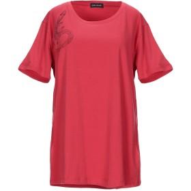 《期間限定セール開催中!》DIANA GALLESI レディース T シャツ レッド XL コットン 96% / ポリウレタン 4%