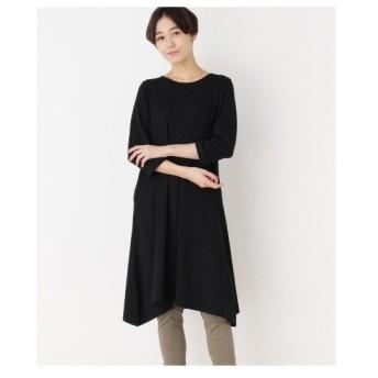 SHOO・LA・RUE(Ladies)(シューラルー(レディース))ベア天ロングワンピース七分袖