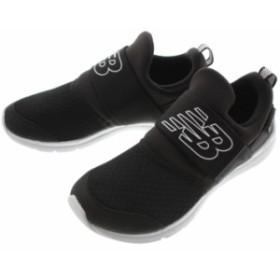 子供 ニューバランス New balance スニーカー POPRES (PREMUS SLIP ON PRE) ブラック BK