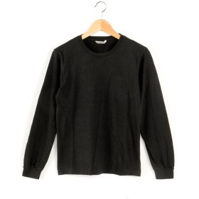 AURALEE 【AURALEE】シームレス長袖Tシャツ BLACK 1(約9号)