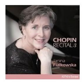Chopin ショパン / ピアノ作品集第3集 ヤニーナ・フィアルコフスカ 輸入盤 〔CD〕