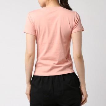 Tシャツ - G & L Style レディース トップス カットソー コットン シンプル カジュアル コットンTシャツ コットン フロントロゴタイトTシャツ 6522