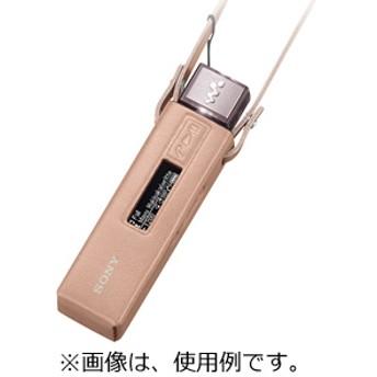 ソニー SONY NW-M500シリーズ専用ネックストラップ付きソフトケース CKS-NWM500(P)(ピンク)