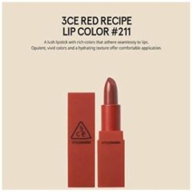 3CE RED RECIPE LIP COLOR/レッドレシピ リップカラー (#211)