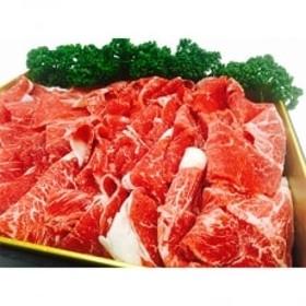 熊本県産赤牛切り落とし 合計1kg