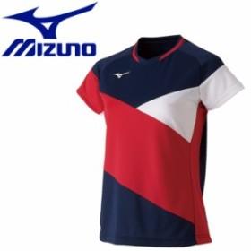【メール便対応】ミズノ テニス ドライサイエンスゲームシャツ レディース 72MA922114