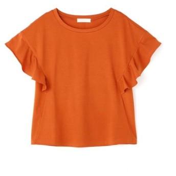 【40%OFF】 フリーズマート シルケット袖フレアカットソー レディース オレンジ FR 【FREE'S MART】 【セール開催中】