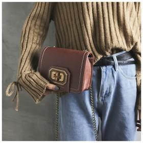 2019新しい秋と冬の単一の肩斜めパッケージ チェーン ミニスクエアバッグ女性の韓国風バージョン 人格トレンド小さな正方形のパッケ